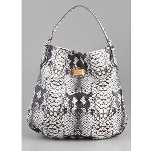 Marc Jacobs Supersonic Snake Print 'Hillier' Hobo